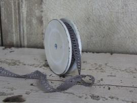 Spoel grijs kant 8 meter