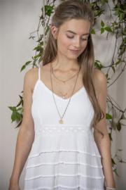 JDL  Maxi jurk Trine,  maat S