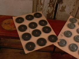 Set van 2 kaarten oude knopen (FT101)