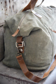 Weekendtas  Sand/dusty army green- JDL