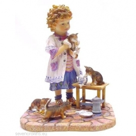 Paintbox Poppets - The Cat that got the Cream (034)