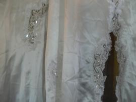 Lange sleep trouwjurk
