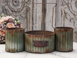 """Chic Antique "" Bloempot antique green"