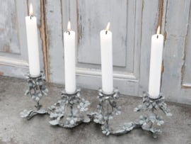 """Chic Antique"" French church candlestick"