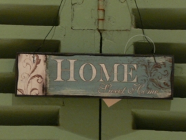 Houten bordje Home (027)