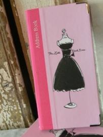 Adresboekje Little Black Dress