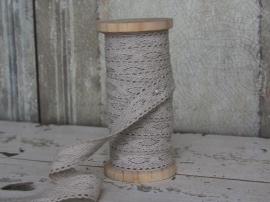 Klos beige kant 13 meter