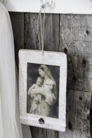 JDL - Kaart/hanger met Madonna ( 2 uitvoeringen) (JDL33)