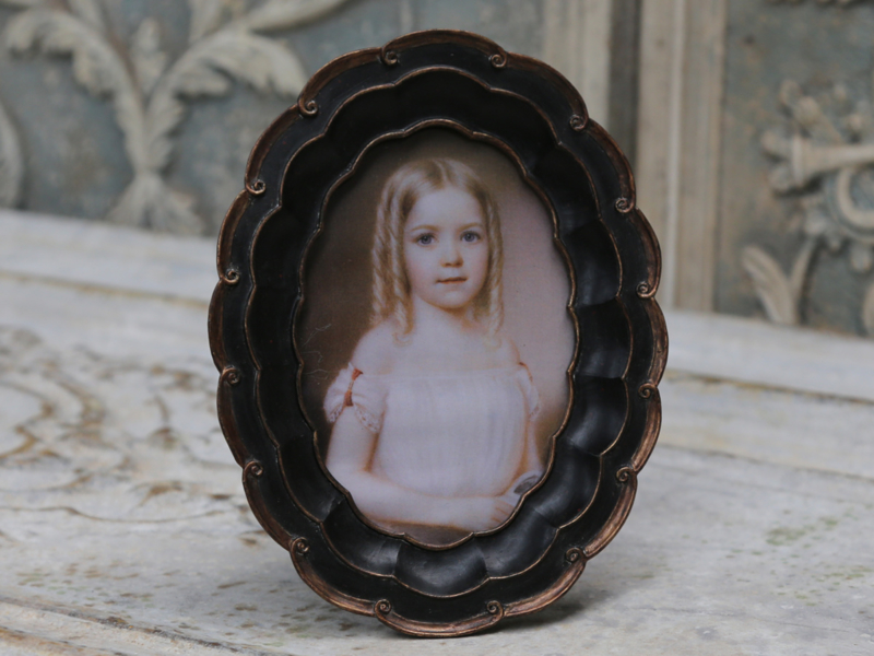 Chic Antique - Ovaal fotolijstje