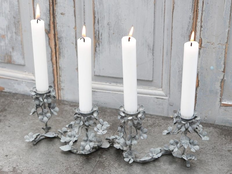"""""""Chic Antique"""" French church candlestick"""