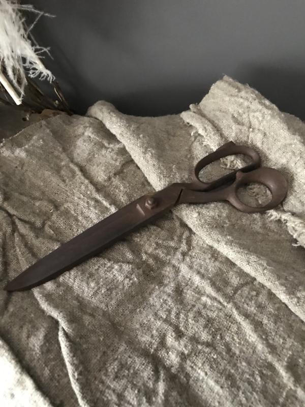 Oude kleermakers schaar C - 28 cm