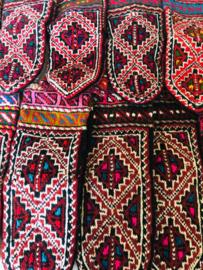 Handgebreide sokken / pantoffels uit  Azerbeidzjan