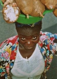 Mali kettingen gemaakt van teenslippers