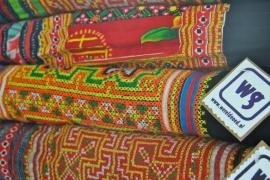 Hmong plaids