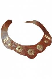 Leren halsketting uit Cuba