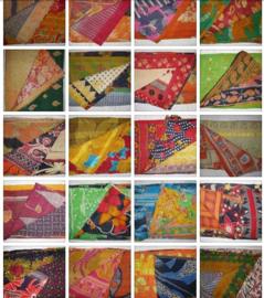Sari Plaids uit India