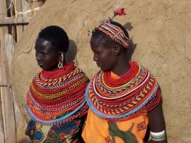 Kralen ketting Kenia