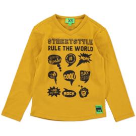 funky xs shirt streetstyle yellow