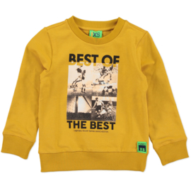 funky xs sweater soccer yellow