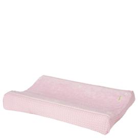 koeka aankleedkussenhoes-wafel-amsterdam_ old baby pink