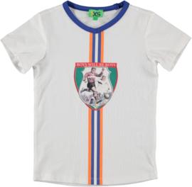 funky xs shirt soccer white