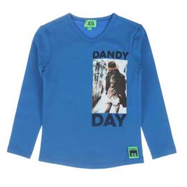 funky xs shirt dandy kobalt
