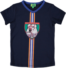 funky xs shirt soccer navy