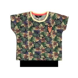 beebielove shirtje  15-2204FLR-met hemdje