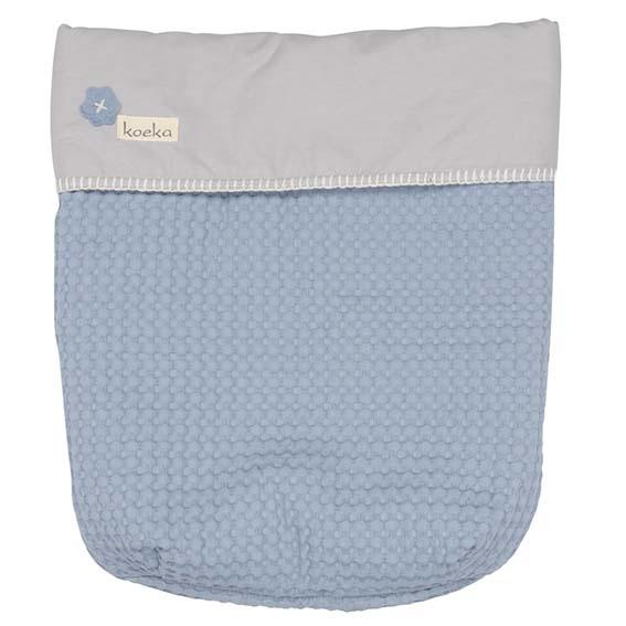 Koeka maxi cosi dekje antwerp-soft-blue silvergrey