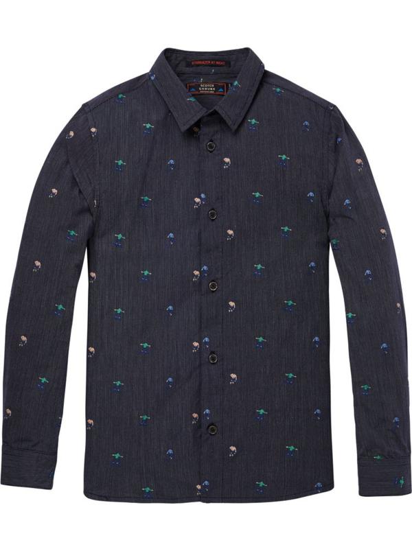 scotch shrunk overhemd 145951-217