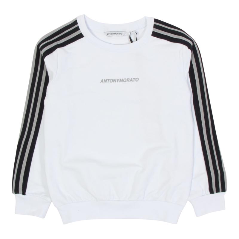 antony morato sweater mkfl00328 white