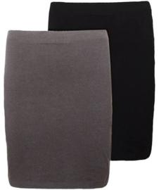 tricot rokje taupe leverbaar in ALLE kleuren foto 2