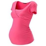 Kirsten roze voedingsshirt met korte mouw alleen nog in XL