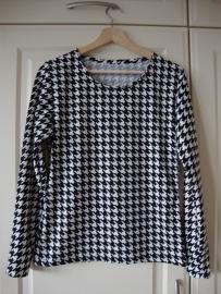 Saskia dames shirt 3/4 MOUW