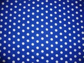 0000A151 tricot  kobalt blauw wit stip 8 mm