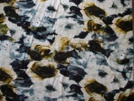 0000A31 tricot blauwgrijs-zwart-bruin-okergeel 2015