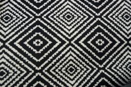 0 a001b12  tricot retro zwart