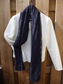 Sjaal kant in heel veel kleuren leverbaar