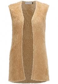 Fluffy gilet ( leverbaar in veel kleuren )