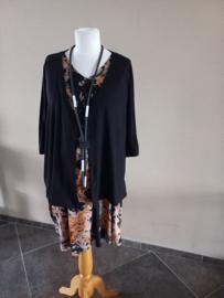 bolero vestje zwart en overige kleuren