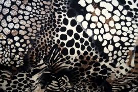 0 a001n tricot zwart bruin vlekjes najaar 2015