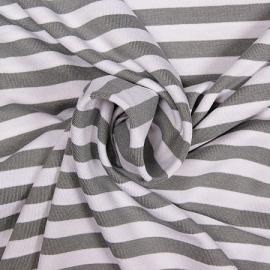 0 a24c tricot grijs wit streep 10 mm.