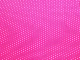 0000A153 tricot  fuchsia wit stip