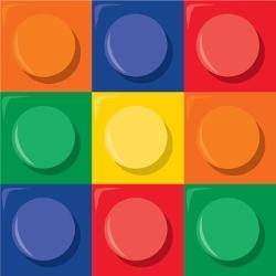 Lego servetten