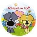 Folie ballon Woezel & Pip