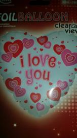 Aktie* Ballon I love You