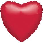 Aktie* Ballon hart rood