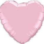 Aktie* Ballon hart roze