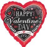 Aktie* Ballon Happy Valentine day