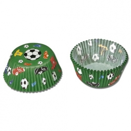 Städter Baking cups Voetbal 50st.